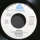 THE BUSBOYS~Anggie~Arista 0589 (Rock & Roll) Promo VG+ 45