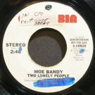 MOE BANDY~Two Lonely People~Columbia 10820 Promo 45