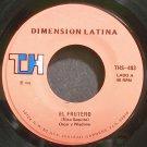 OSCAR D'LEON & WLADIMIR~El Frutero~Dimension Latina 403 Rare VG+ 45