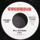 BILL WITHERS~U.S.A.~Columbia 02651 (Soul) Promo VG+ 45