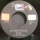 SYLVIA~Cry Just a Little Bit~RCA 14107 VG+ 45