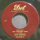 JOHNNY MADDOX~San Antonio Rose~Dot 15001 (Ragtime) VG++ 45