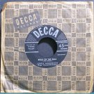 LEROY ANDERSON~Belle of the Ball~Decca 27875 (Big Band Swing) VG+ 45