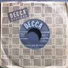 WEBB PIERCE~I Haven't Got the Heart~Decca 28594 VG+ 45
