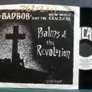 BAD BOB & NEW WORLD CRUSADE~Psalms of the Revolution~Incas 740 Hardcore VG+ 45 EP