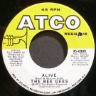 BEE GEES~Alive~ATCO 6909  45