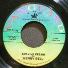 BENNY BELL~Shaving Cream~Vanguard 35183 VG+ 45
