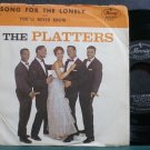 PLATTERS~Song for the Lonely~Mercury 71904 (Early R&B) VG+ 45