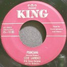STEVE LAWRENCE~Poinciana~King 15185 (Jazz Vocals) VG+ HEAR 45