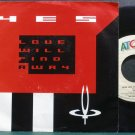 YES~Love Will Find a Way~ATCO 99449 (Progressive Rock)  45