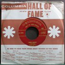 FRANKIE CARLE~Sunrise Serenade~Columbia Hall of Fame 50024 (Big Band Swing) Rare VG+ 45