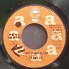 LABELLE~Lady Marmalade~EPIC 50048 (Soul) Promo 45