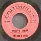 SPENCER ROSS~Tracy's Theme~Columbia 41532 (OST)  45