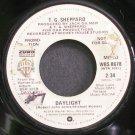 T.G. SHEPPARD~Daylight~Warner Bros. 8678 Promo 45