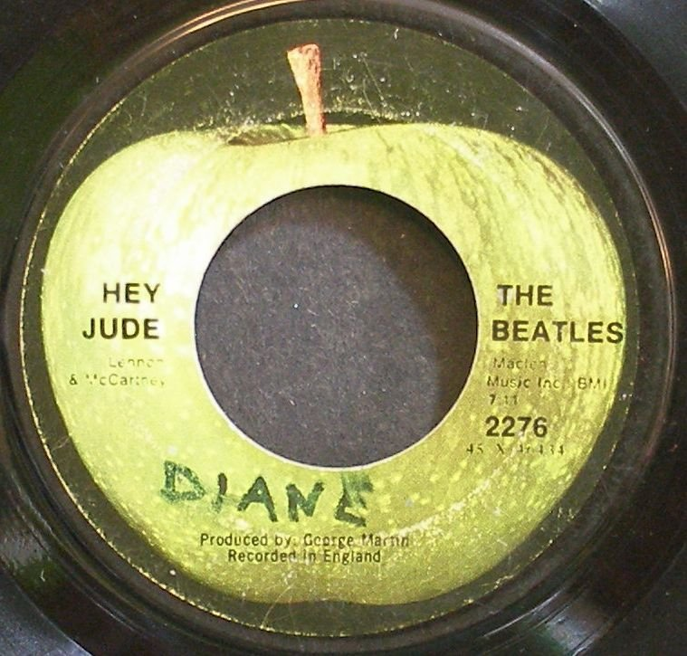 BEATLES~Hey Jude~Apple 2276 (British Invasion)  45