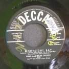 BING CROSBY & GARY CROSBY~Moonlight Bay~Decca 27577 (Jazz Vocals) VG++ 45