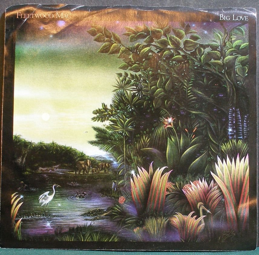 FLEETWOOD MAC~Big Love~Warner Bros. 28398 (Classic Rock)  45