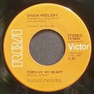 CHUCK WOOLERY~Forgive Me Heart~RCA 0865 Rare VG+ 45