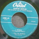 DUKE ELLINGTON~Ellington Showcase, ~Capitol 679 (Big Band Swing) VG+ 45 EP