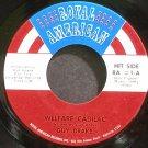 GUY DRAKE~Welfare Cadilac~Royal American RA #1 VG++ 45