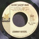 JOHNNY RIVERS~Secret Agent Man~IMPERIAL 060 (Rock & Roll)  45