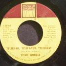 STEVIE WONDER~Yester-Me, Yester-You, Yesterday~Tamla 54188 (Soul) VG+ 45