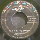 LLOYD PRICE~I'm Gonna Get Married~ABC-Paramount 10,032 (Soul)  45