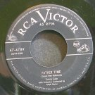 SUNNY GALE~Father Time~RCA Victor 4789  45