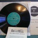 "UNKNOWN~Learn-A-Language (German)~Milwaukee Journal MJG VG++ 4LP 10"""