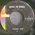 BOBBY VEE~Devil or Angel~Liberty 55270  45
