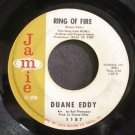 DUANE EDDY~Ring of Fire~Jamie 1187 (Instrumental Rock)  45