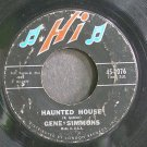 GENE SIMMONS~Haunted House~HI 2076 (Rock & Roll)  45