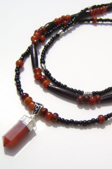 Carneillian Power of the Earth Necklace