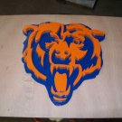 Chicago Bears emblem scroll sign