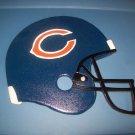 Bears Helmet, painted intarsia