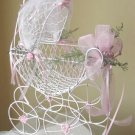 Wire Baby Carriage Medium