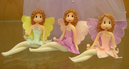 Cold Porcelain Mini Faries