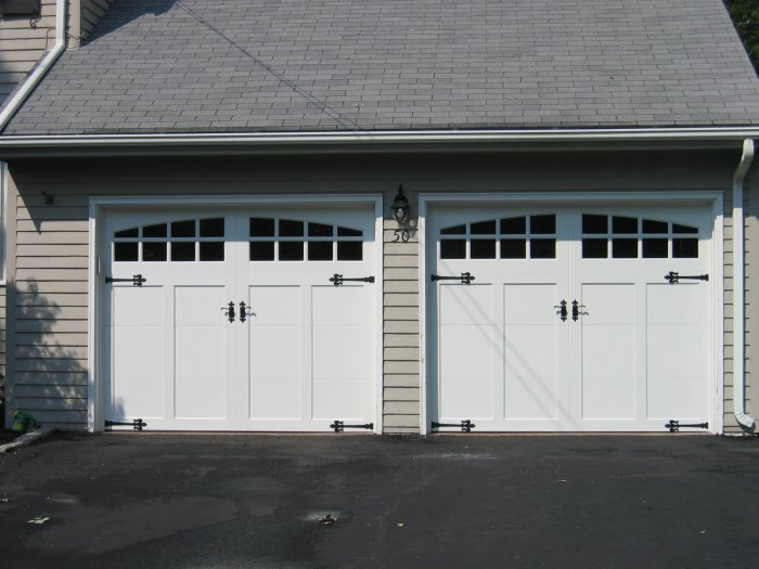 Clopay coachman collection garage doors for Clopay steel garage doors