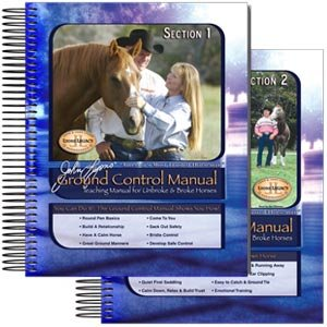 John Lyons Newest Release 2 volume Ground Control Horse Training Manual