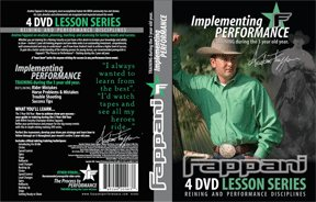 SEALED ANDREA FAPPANI - REINING Process to Performance (3 yr old) 4 DVDS