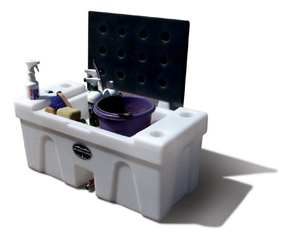 BENCH WATER CADDY Water caddie tank horse trailer  High Country Plastics ON SALE