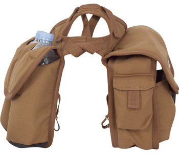 CASHEL Medium Saddle Horn Bag Brown