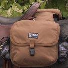 CASHEL Deluxe Saddle Bag Brown