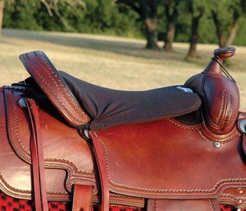 CASHEL TUSH CUSHION Western Style Long Saddle Seat Pad John Lyons endorsed