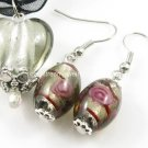 PE003 LAMPWORK GLASS SMOKY HEART EARRING PENDANT EARRINGS SET 300 SETS