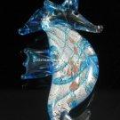 GP1043 LAMPWORK GLASS BLUE SEAHORSE PENDANT 300 PCS