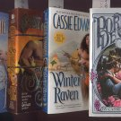 Lot of 4 Cassie Edwards - Portrait, Savage Fires, Winter, Eagle PB