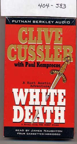 White Death by Clive Cussler audio cassette 2003