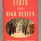 Earth and High Heaven by Gwethalyn Graham HC 1945
