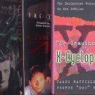 Lot of 3 X-Files - Ground Zero, Antibodies, X-Cyclopedia HC